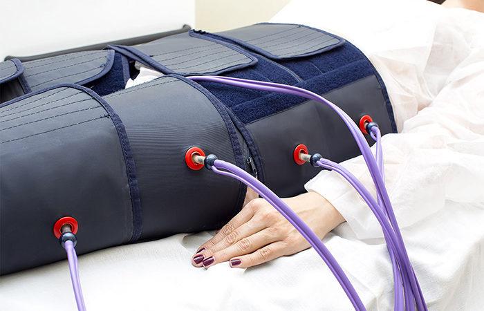 Прессотерапия при месячных: применять или нет