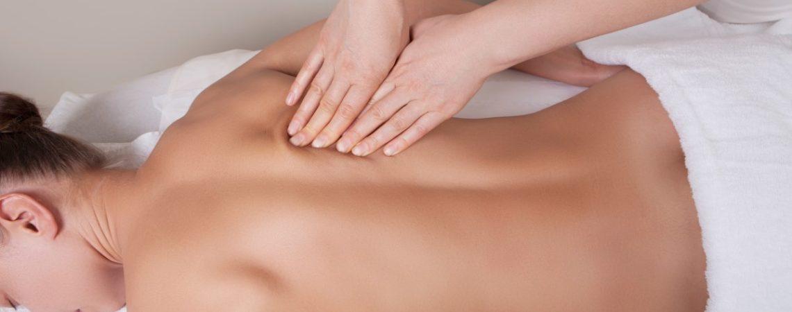 Лимфодренажный массаж спины