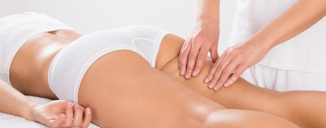 Ручной антицеллюлитный массаж